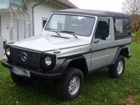 gebraucht Mercedes G230 Cabrio, H-Kennzeichen