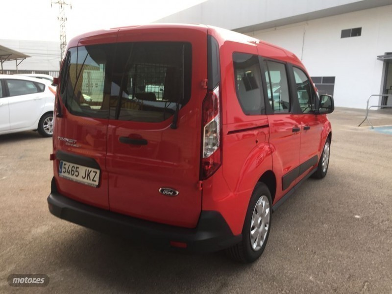 vendido ford transit connect kombi 1 coches usados en venta. Black Bedroom Furniture Sets. Home Design Ideas