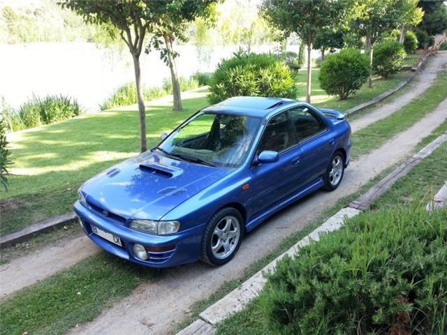 Vendido Subaru Impreza 2 0 Gt Turbo 4