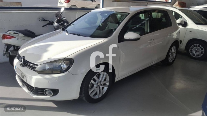 vendido vw golf 1 4 tsi 122cv highlin coches usados en venta. Black Bedroom Furniture Sets. Home Design Ideas