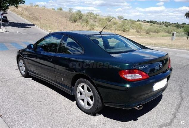 vendido peugeot 406 coupe v6 2p 99 coches usados en venta. Black Bedroom Furniture Sets. Home Design Ideas