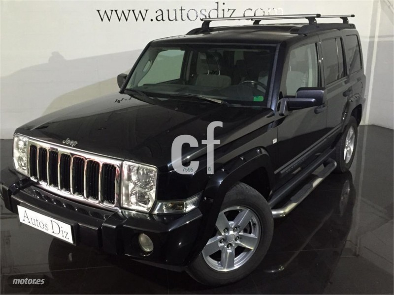 vendido jeep commander 3 0 v6 crd lim coches usados en. Black Bedroom Furniture Sets. Home Design Ideas