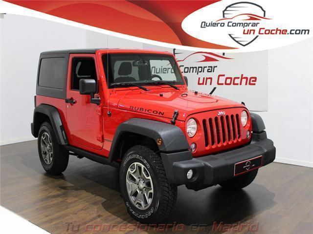 vendido jeep wrangler 3.6 v6 rubicon . - coches usados en venta