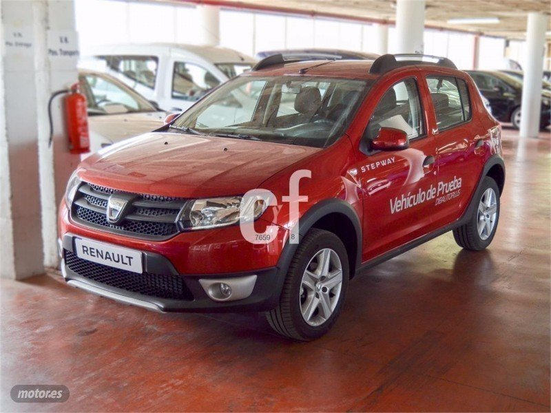 vendido dacia sandero stepway tce 90 coches usados en venta. Black Bedroom Furniture Sets. Home Design Ideas