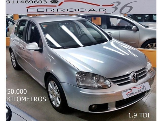 vendido vw golf 1 9tdi sportline 105 coches usados en venta. Black Bedroom Furniture Sets. Home Design Ideas