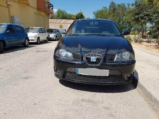vendido seat ibiza 1 9 tdi cupra 160 coches usados en venta. Black Bedroom Furniture Sets. Home Design Ideas