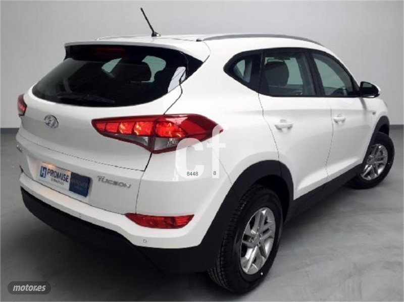 vendido hyundai tucson 1 7 crdi 115 h coches usados en. Black Bedroom Furniture Sets. Home Design Ideas