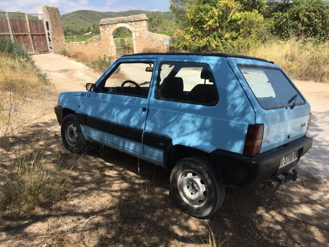 Vendido fiat panda 4x4 1000 sisley coches usados en venta for Fiat panda 4x4 sisley usata