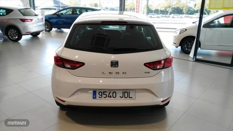vendido seat leon 1 6 tdi cr 105 styl coches usados en venta. Black Bedroom Furniture Sets. Home Design Ideas