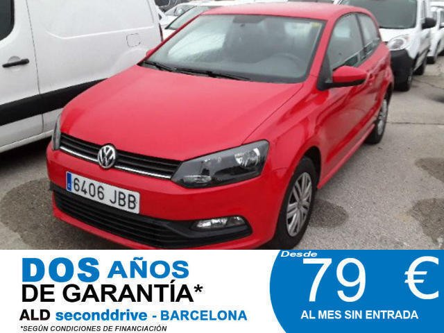 6c88590c3b86e Vendido. usado VW Polo Edition 1.0 60cv BMT   79€ MES SIN ENTRADA