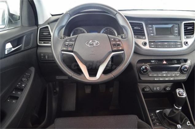 vendido hyundai tucson 1 7 crdi 85kw coches usados en venta. Black Bedroom Furniture Sets. Home Design Ideas