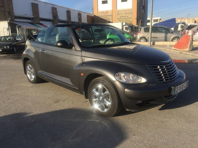 chrysler pt cruiser cabrio 2 coches usados en venta. Black Bedroom Furniture Sets. Home Design Ideas