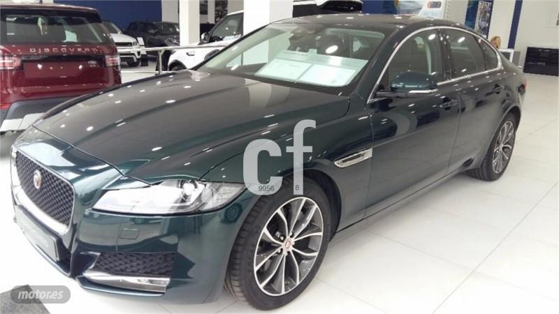 vendido jaguar xf pure aut 18 coches usados en venta. Black Bedroom Furniture Sets. Home Design Ideas