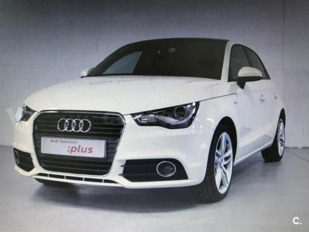 vendido audi a1 sportback 1 4 tfsi 12 coches usados en venta. Black Bedroom Furniture Sets. Home Design Ideas