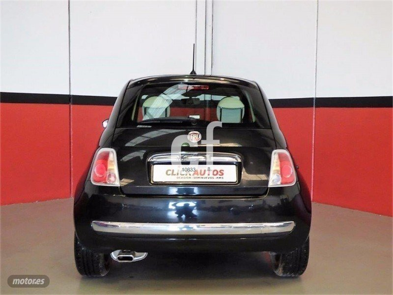 vendido fiat 500 1 2 8v 69 cv lounge coches usados en venta. Black Bedroom Furniture Sets. Home Design Ideas