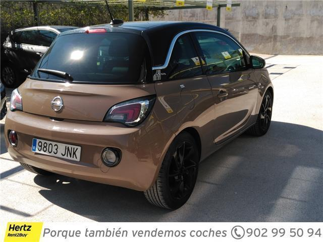 vendido opel adam slam 1 4 100cv coches usados en venta. Black Bedroom Furniture Sets. Home Design Ideas