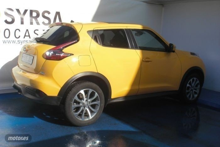 vendido nissan juke 1 5 dci tekna 110 coches usados en venta. Black Bedroom Furniture Sets. Home Design Ideas