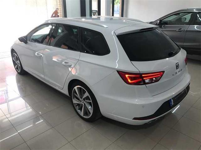 vendido seat leon st fr 2 0tdi 184cv coches usados en venta. Black Bedroom Furniture Sets. Home Design Ideas