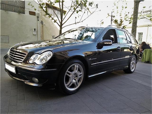 vendido mercedes c32 amg amg familiar coches usados en venta. Black Bedroom Furniture Sets. Home Design Ideas