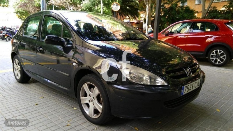 vendido peugeot 307 2 0 hdi 110 xr coches usados en venta. Black Bedroom Furniture Sets. Home Design Ideas