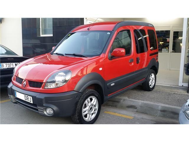 vendido renault kangoo 4x4 1 6 16v 95 coches usados en. Black Bedroom Furniture Sets. Home Design Ideas