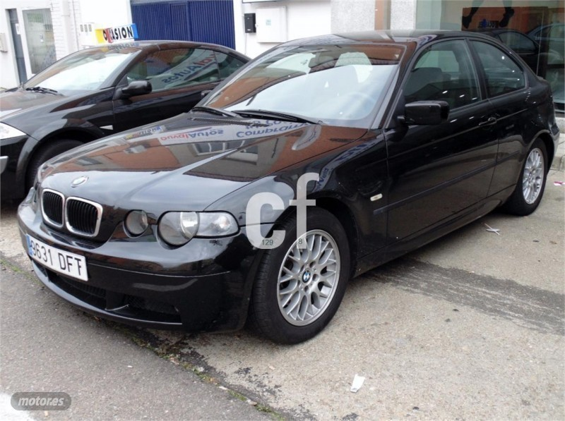 vendido bmw 320 compact td compact m coches usados en venta. Black Bedroom Furniture Sets. Home Design Ideas