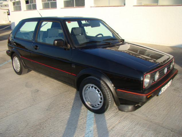 vendido vw golf golf1 8 gti 87 coches usados en venta. Black Bedroom Furniture Sets. Home Design Ideas