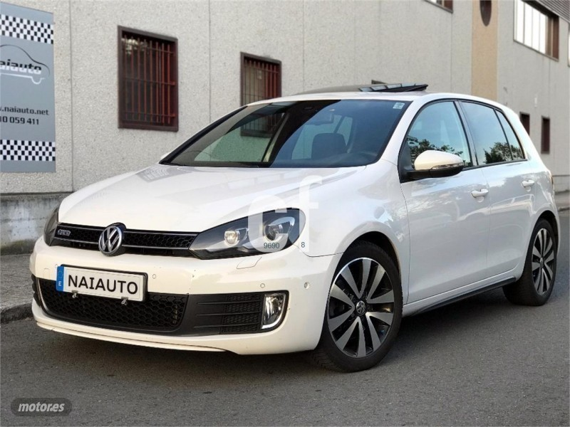vendido vw golf vi 2 0 tdi 170cv dsg coches usados en venta. Black Bedroom Furniture Sets. Home Design Ideas