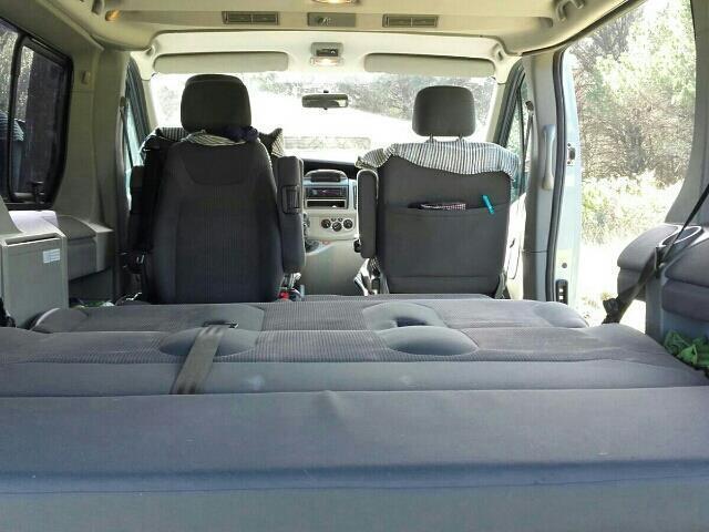 vendido opel vivaro life westfalia coches usados en venta. Black Bedroom Furniture Sets. Home Design Ideas