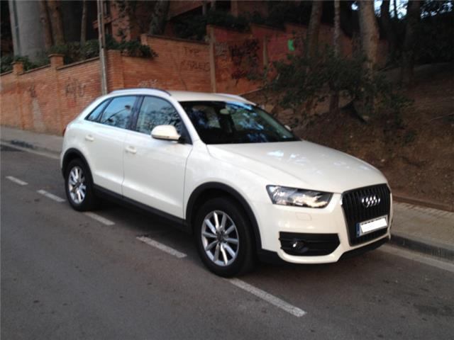 vendido audi q3 2 0tdi ambiente coches usados en venta. Black Bedroom Furniture Sets. Home Design Ideas