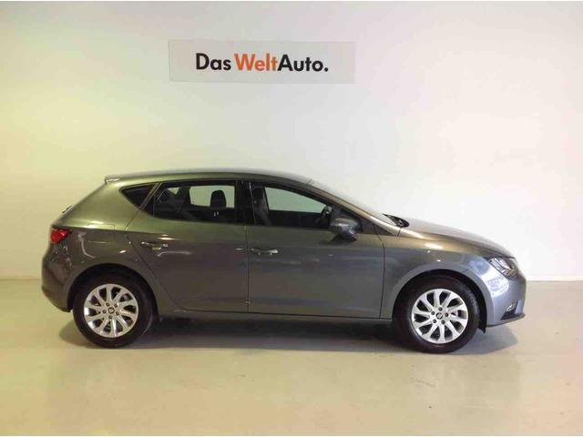 vendido seat leon 1 6 tdi dsg 7 st sp coches usados en venta. Black Bedroom Furniture Sets. Home Design Ideas