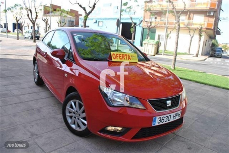 vendido seat ibiza sc 1 6 tdi 90cv st coches usados en venta. Black Bedroom Furniture Sets. Home Design Ideas