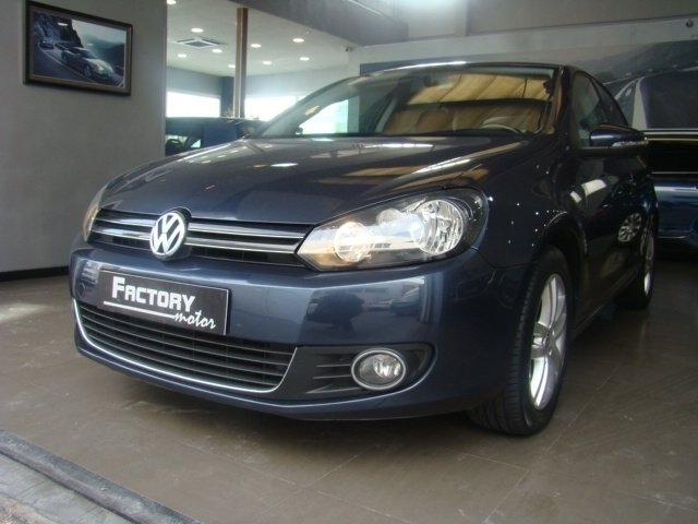 vendido vw golf vi golf2 0 tdi 110 coches usados en venta. Black Bedroom Furniture Sets. Home Design Ideas