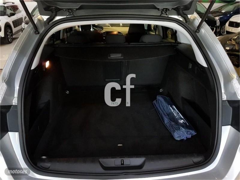 peugeot 308 sw style 1 6 blue coches usados en venta. Black Bedroom Furniture Sets. Home Design Ideas