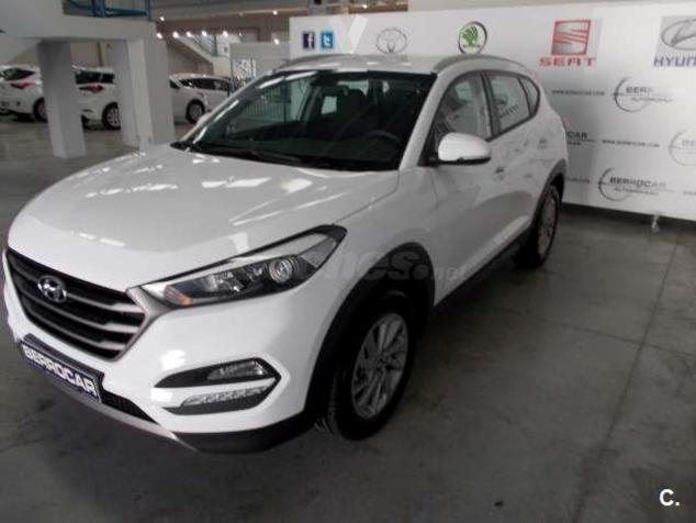 vendido hyundai tucson 1 7 crdi 115cv coches usados en venta. Black Bedroom Furniture Sets. Home Design Ideas
