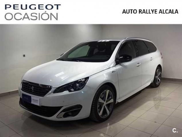 vendido peugeot 308 sw gt line 2.0 bl. - coches usados en venta