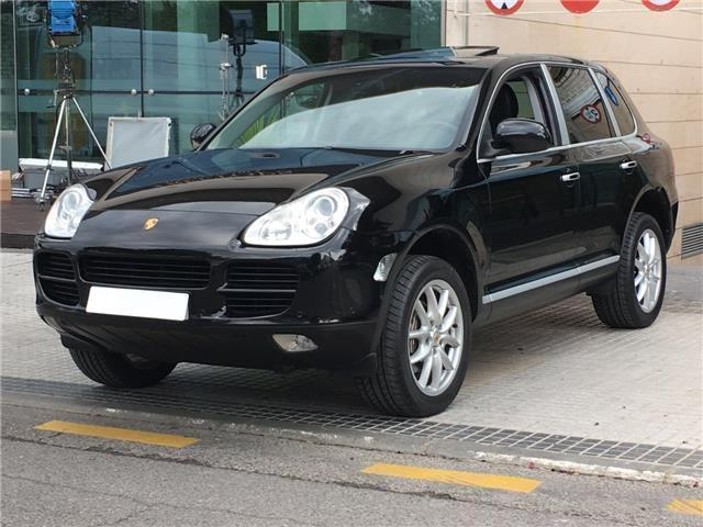 vendido porsche cayenne v6 cambio ma coches usados en venta. Black Bedroom Furniture Sets. Home Design Ideas