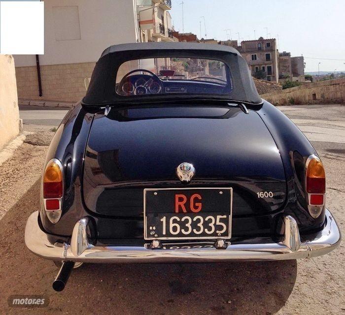 Vendido Alfa Romeo Giulia Spider 1600