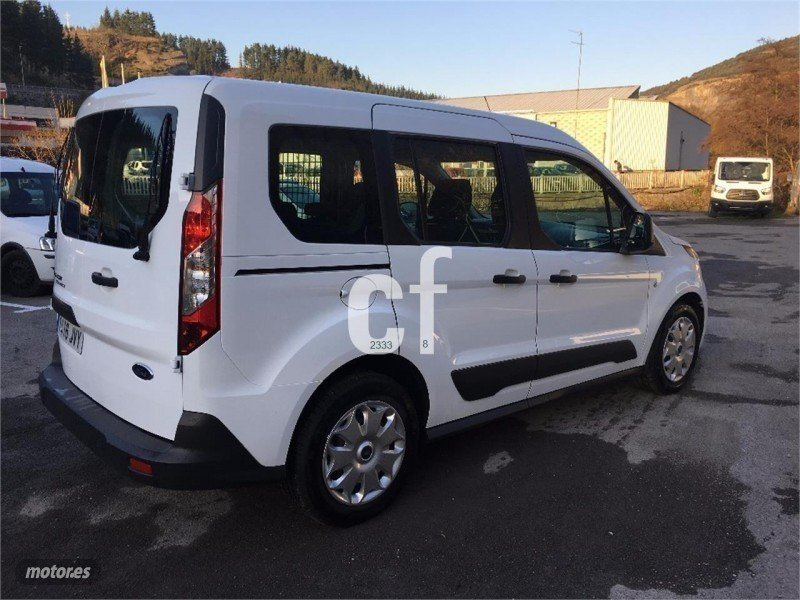 vendido ford transit courier kombi 1 coches usados en venta. Black Bedroom Furniture Sets. Home Design Ideas