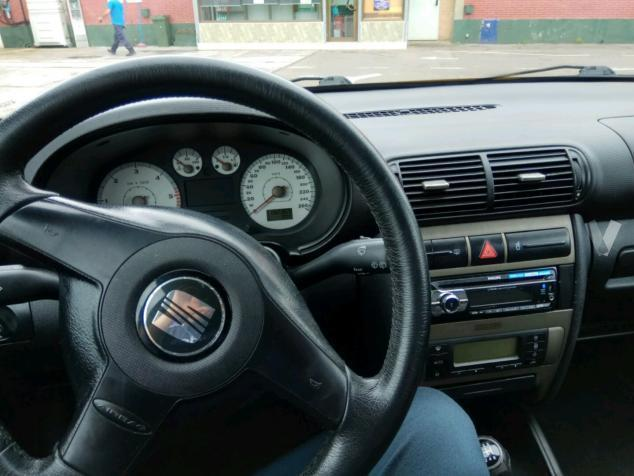 vendido seat leon 1 9 tdi 150 cv spor coches usados en. Black Bedroom Furniture Sets. Home Design Ideas