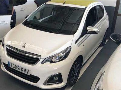 usado Peugeot 108 TOP! COLLECTION VTI 52KW (72CV)
