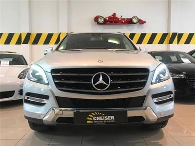 gebraucht Mercedes ML350 BlueTec 4M !!NAVI!! DVDS!! IVA DEDUCIBLE!!