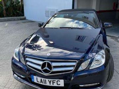 usado Mercedes E220 Cabrio CDI BE Aut.