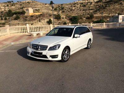 usado Mercedes C220 Estate CDI BE Sport 4M 7G Plus