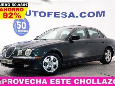 used Jaguar S-Type 3.0 V6 238cv Executive 4p # CUERO, TECHO, LIBRO