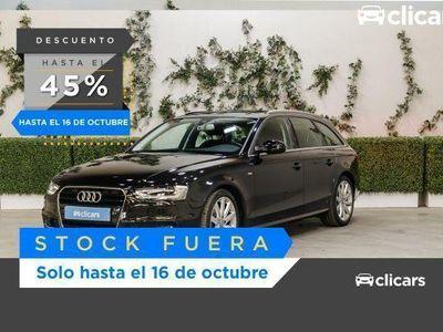 usado Audi A4 AVANT 2.0 TDI CLEAN D 190CV QUAT S LINE