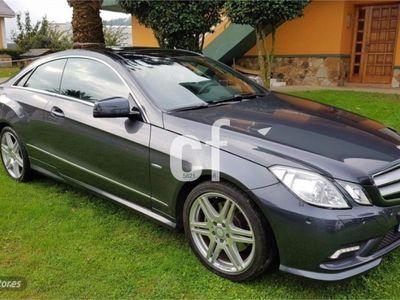 usado Mercedes E350 Clase E CoupeCDI Blue Efficiency Elegance
