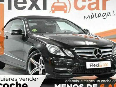 usado Mercedes 350 Clase E CoupéCDI Blue Efficiency Elegance