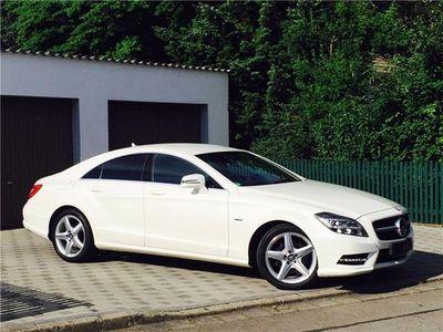 usado Mercedes CLS350 CDI BE*PACK AMG*CAMARA*HARMAN*LED*CUERO*18*
