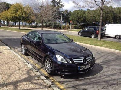 usado Mercedes 500 Clase E Coupé